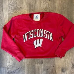 Wisconsin Badgers College Crewneck Size Medium